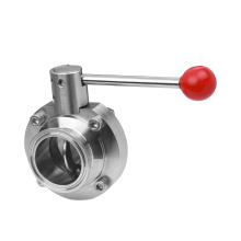 food union stainless steel butterfly valve