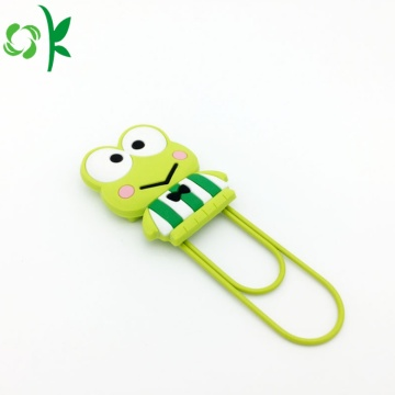 Popular Eco-friendly Silicone BookMarker for Kids