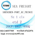 Shenzhen Port Sea Freight Shipping To PORT_AU_PRINCE