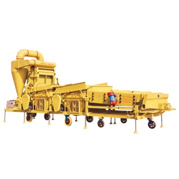 High-tech low energy consumption wheat seed cleaning machine