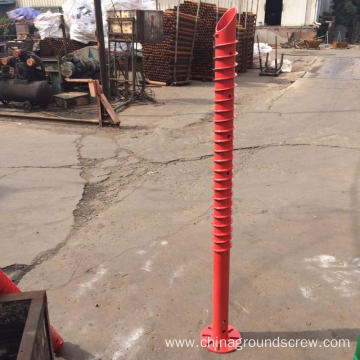 V Shape Ground Screw Pile