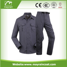 Fashion Mens Fall Wear Contrast Color Workwear