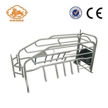 Free sample for China Tube Farrowing Crates,Farrowing Pig Crate,Tube Fence Farrowing Crates,Adjustable Tube Farrowing Crates Supplier SST Hot Dip Galvanized Automatic Sow Farrowing Pens supply to Niue Wholesale