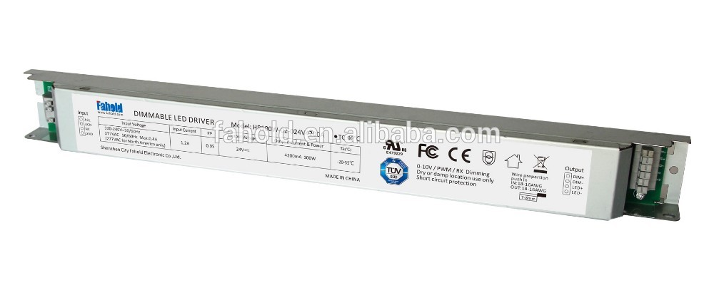 power supplies 24v   12v dimmable led driver 100w china