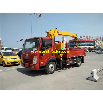 Dayun Telescopic 6ton Truck with Cranes