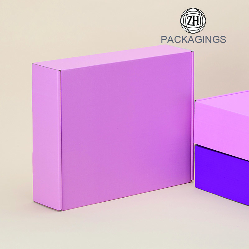 New designed pink mailing box