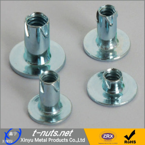 Carbon Steel Stamp Propelling Nuts