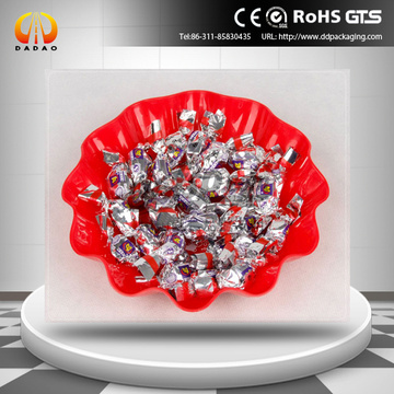 23 micron metallized pet twist film for candy