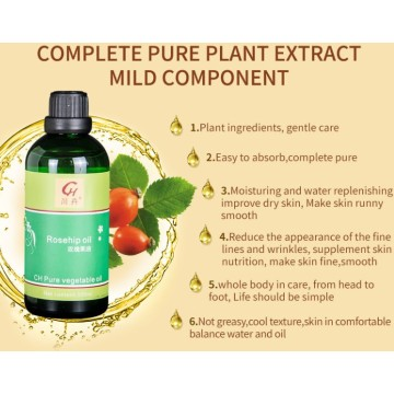 Pure Natural Rosehip Oil for Skin and Hair