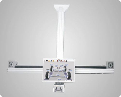 Testing Machine 3D Wheel Alignment