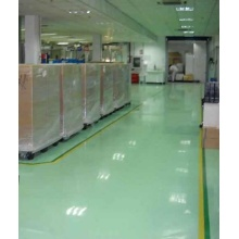 Grass green epoxy flat coating