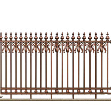 Wrought Spire Aluminum Fence