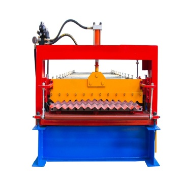 Corrugated roofing roll forming machine used in building