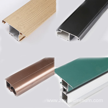 Type of standard aluminium extruded section