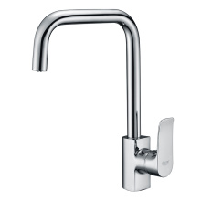 Lead free rotating hot and cold faucets