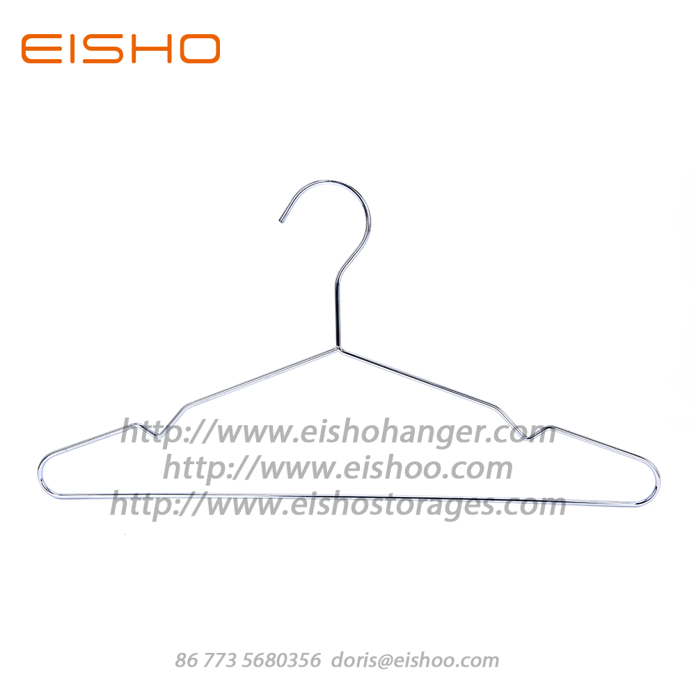 EISHO Stainless Steel Chrome Metal Top Hanger
