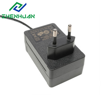 36W 12 Volt Europa Plug Power Adapter Oplader