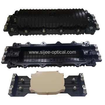 Factory wholesale price for Horizontal Fiber Optic Splice Closure 4 Port In-Line Fiber Optic Cable Junction Box export to Guinea-Bissau Manufacturer