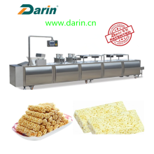 OEM/ODM for Cereal Bar Making Machine Extruded rice cereal bar compression molding machine. supply to Albania Suppliers