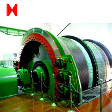 China High loading capacity wire rope mine hoist winder for shaft sinking