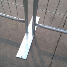 China OEM for  Crowd Barrier Temporary Fence Base supply to South Korea Manufacturers