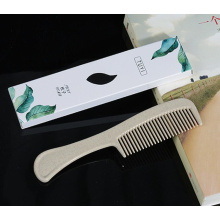 Degradable straw comb hotel comb