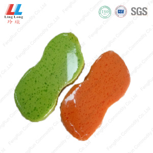 Waist grouting sponge enchanting foaming