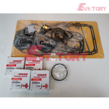 YANMAR engine piston 4TN82E piston ring