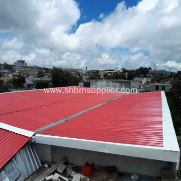 MGO Roofing sheet Better Than Fiber Cement Roof