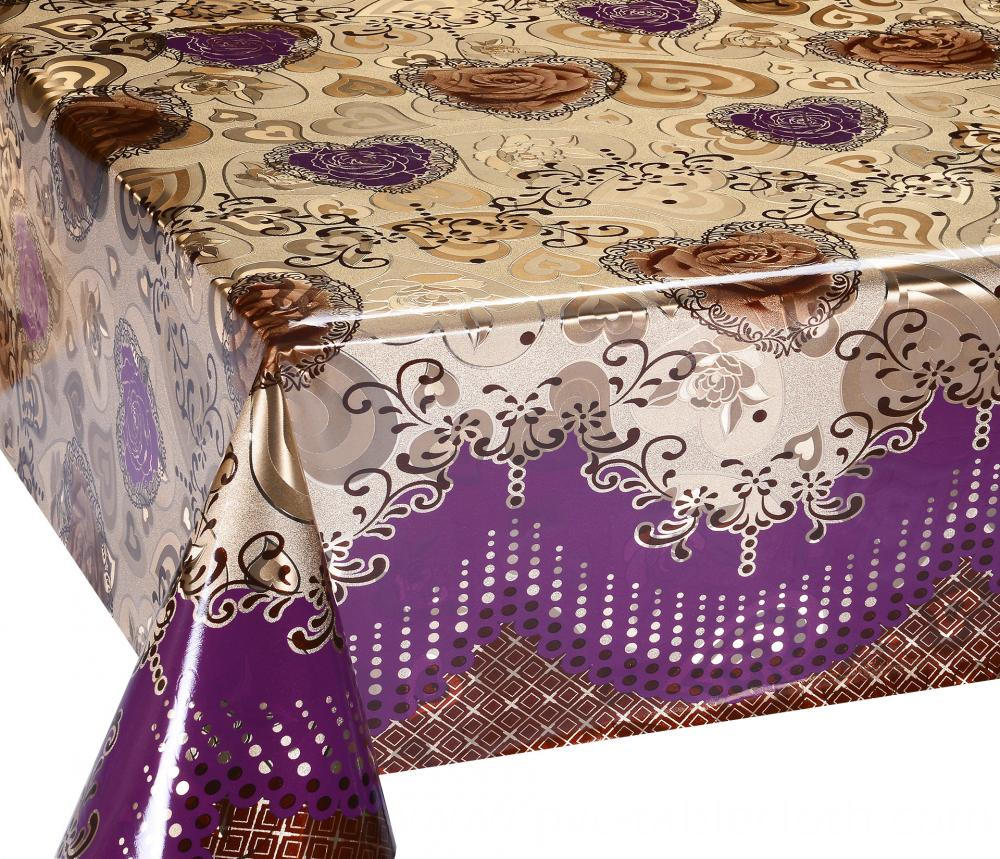 Mettalic gold silver tablecloth 4