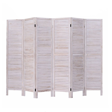 Wood-plastic Carved wooden screen room divider