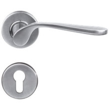 Cheapest Factory for Solid Door Handle On Plate Modern Home Solid Handle export to Armenia Manufacturer