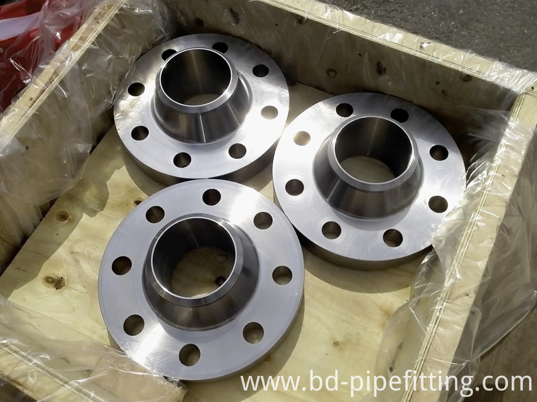 ANSI DIN Carbon Steel Welding Neck Forged Pipe Flanges