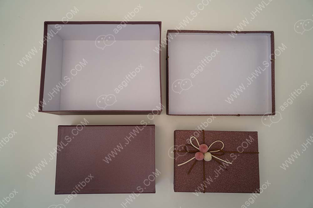 Bowknot Clothing Packing Box