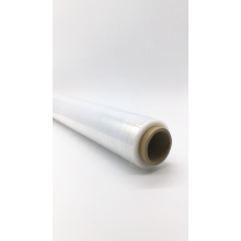 High Quality Industrial Factory for Polyethylene Colored Stretch Film Transparent 2 inch stretch film wrap roll supply to Uzbekistan Importers