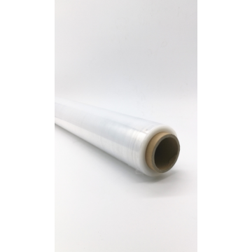 Transparent 2 inch stretch film wrap roll