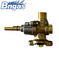 Small brass valve  for gas oven