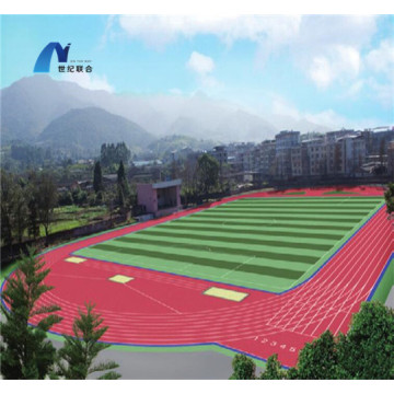 Low Price High-Quality 3:1 Pavement Materials   Courts Sports Surface Flooring Athletic Running Track