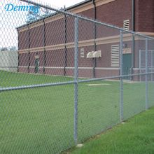 Galvanized or PVC Coated Used Chain Link Fence
