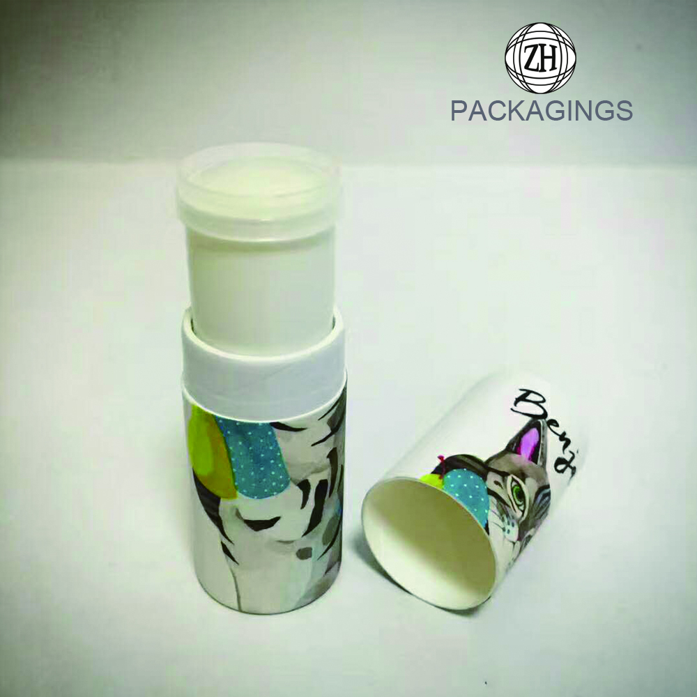 Customized small cardboard tube box for lipsticks