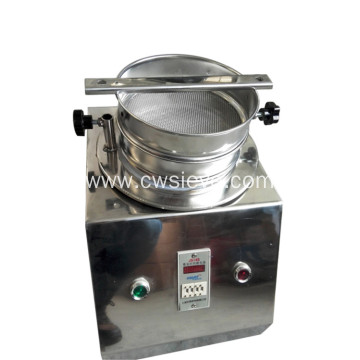 Automatic lab granularity size test sieve shaker