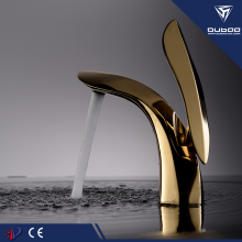 Attractive Golden Basin Tap Mixer Faucet For Bathroom