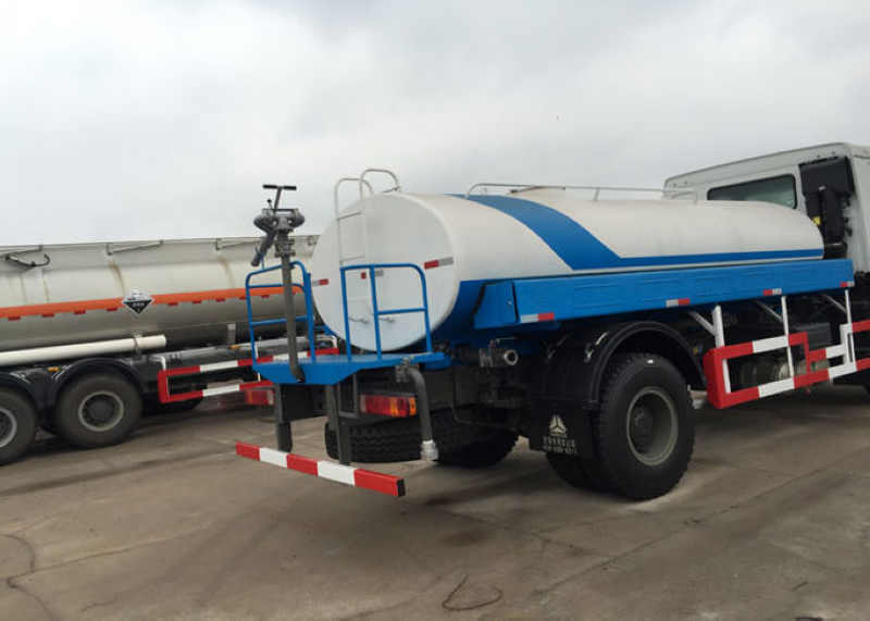 High Efficiency Construction Water Tank Truck 10cbm