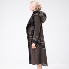 Hooded Women Australia Merino Shearling Fur