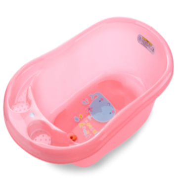 Plastic Transparent Infant Bathtub M