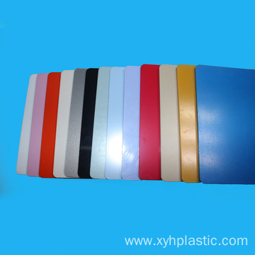 Different Color Natural Virgin ABS Materials Sheet