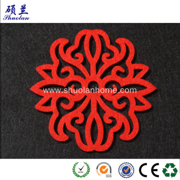 Chinese paper cutting by felt