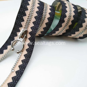 Brass Zipper for Hang Bags and Jeans