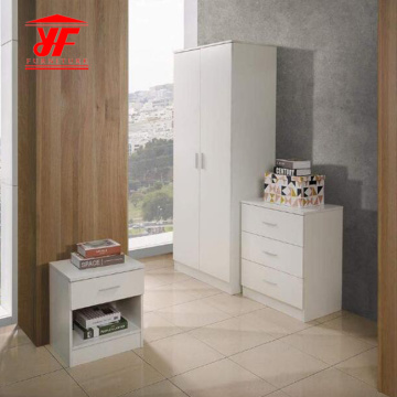 Factory selling for White Wardrobe Hot best seller wardrobe bedroom furniture set export to Portugal Supplier