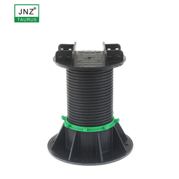 adjustable plastic pedestal decking and tiles pedestal